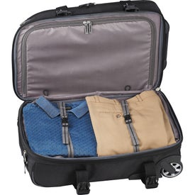 High Sierra Elite Carry-On Wheeled Duffel with Your Slogan