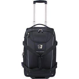 High Sierra Elite Carry-On Wheeled Duffel Branded with Your Logo