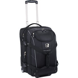High Sierra Elite Carry-On Wheeled Duffel for Customization
