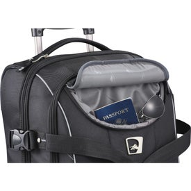 High Sierra Elite Carry-On Wheeled Duffel for Marketing