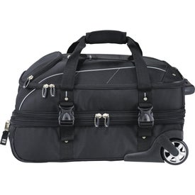 High Sierra Elite Carry-On Wheeled Duffel with Your Logo