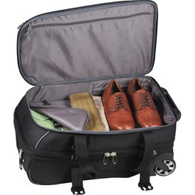 High Sierra Elite Carry-On Wheeled Duffel for Your Company