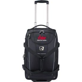 High Sierra Elite Carry-On Wheeled Duffel Printed with Your Logo