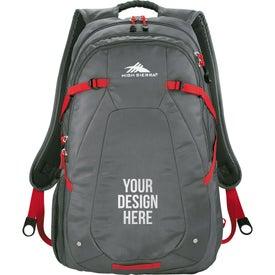 Branded High Sierra Fallout Compu-Backpack