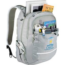 Imprinted High Sierra Glitch Compu-Backpack