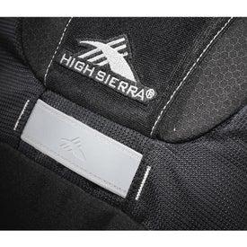 Personalized High Sierra Mayhem Compu-Backpack
