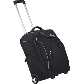 High Sierra Powerglide Wheeled Compu-Backpack for Marketing