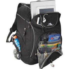Branded High Sierra Powerglide Wheeled Compu-Backpack