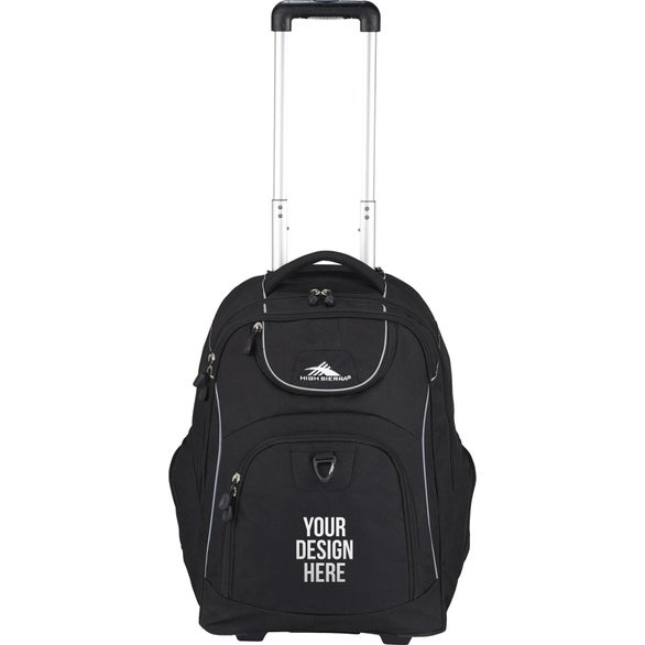 High Sierra Powerglide Wheeled Compu-Backpack