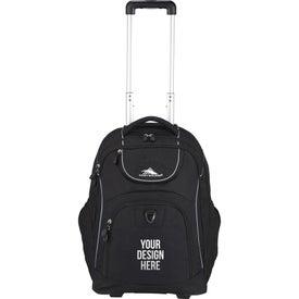 Branded High Sierra Powerglide Wheeled Compu-Backpack