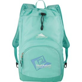 Monogrammed High Sierra Synch Backpack