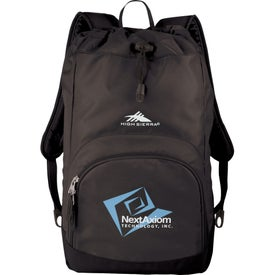 High Sierra Synch Backpack with Your Slogan