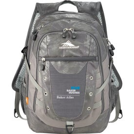 Printed High Sierra Tactic Compu-Backpack
