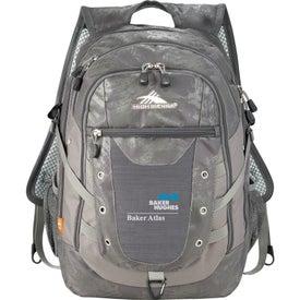 Printed High Sierra Tactic Compu-Backpack