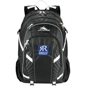 Imprinted High Sierra Zoe Compu-Backpack