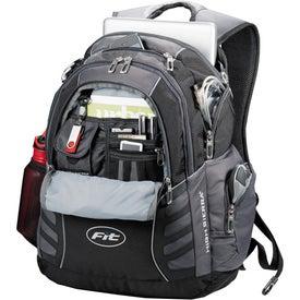 Monogrammed High Sierra Big Wig Compu Backpack