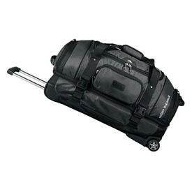 "High Sierra 30"" Executive Wheeled Duffel/Drop Bottom for Your Company"