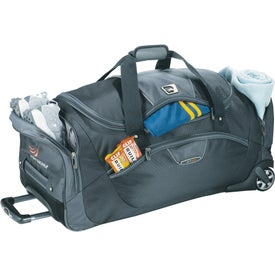 "High Sierra A.T. Go 30"" Wheeled Duffel Imprinted with Your Logo"