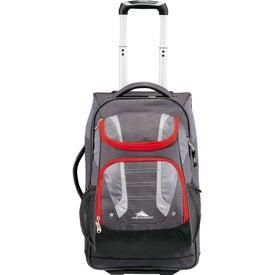 """High Sierra AT3.5 22"""" Carry-On With Daypack for Promotion"""