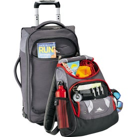 """High Sierra AT3.5 22"""" Carry-On With Daypack Branded with Your Logo"""