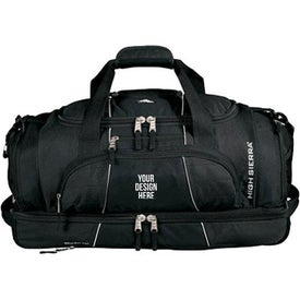 High Sierra Colossus Drop Bottom Duffel