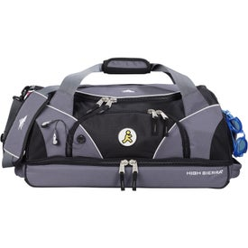 High Sierra Crunk Cross Sport Duffel with Your Slogan