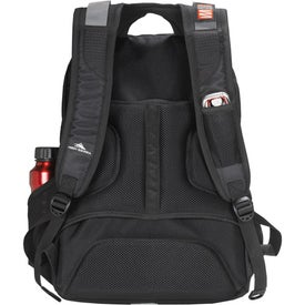 Customized High Sierra Fly By Level Compu Backpack