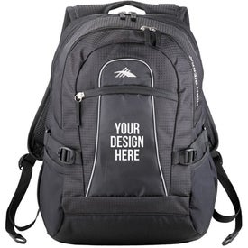 High Sierra Fly By Level Compu Backpack