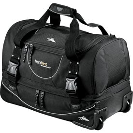 High Sierra Rolling Duffel with Your Logo
