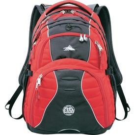 High Sierra Swerve Compu-Backpack for Advertising