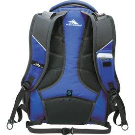 High Sierra Swerve Compu-Backpack for Marketing