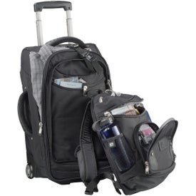"""High Sierra 22"""" Wheeled Carry-On with Removable Day Pack for Your Company"""