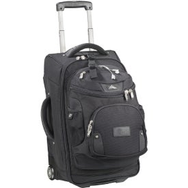 """Custom High Sierra 22"""" Wheeled Carry-On with Removable Day Pack"""