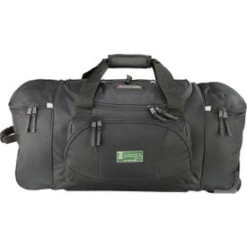 "Printed High Sierra 26"" Wheeled Duffel"