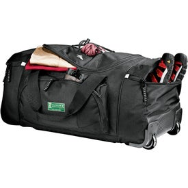 "High Sierra 26"" Wheeled Duffel for Advertising"