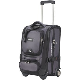 "High Sierra 21"" Carry Wheeled Duffel"