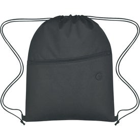 Non-Woven Hit Sports Pack With Front Zipper for Marketing