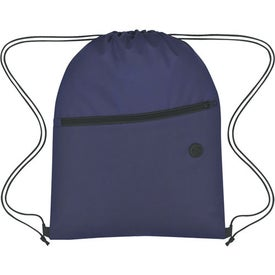 Custom Non-Woven Hit Sports Pack With Front Zipper
