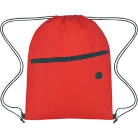 Non-Woven Hit Sports Pack With Front Zipper for your School