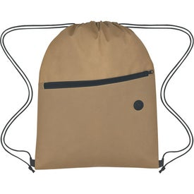 Non-Woven Hit Sports Pack With Front Zipper for Your Company