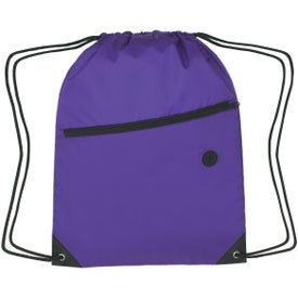 Hit Sports Pack with Front Zipper Printed with Your Logo