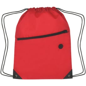 Hit Sports Pack with Front Zipper with Your Slogan