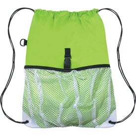 Monogrammed Hit Sports Pack with Outside Mesh Pocket