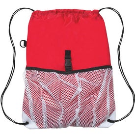 Advertising Hit Sports Pack with Outside Mesh Pocket