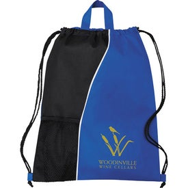 Hitch Drawstring Cinch Backpack for Marketing