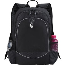 Monogrammed Hive Compu-Backpack