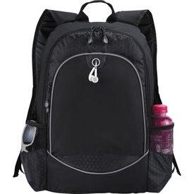 Monogrammed Hive Compu-Backpack