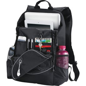 Imprinted Hive Compu-Backpack