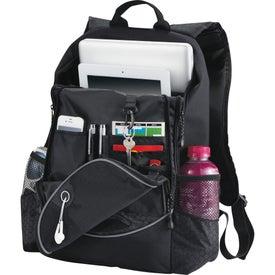 Imprinted Hive Compu-Backpack