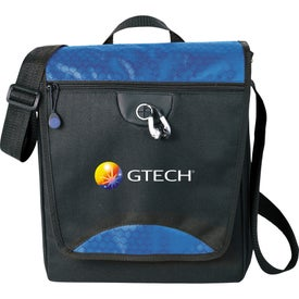 Imprinted Hive Tablet Messenger Bag